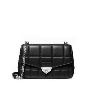 MICHAEL KORS SOHO BLACK LARGE CROSSBODY BAG