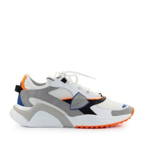 PHILIPPE MODEL EZE MONDIAL WHITE ORANGE SNEAKER
