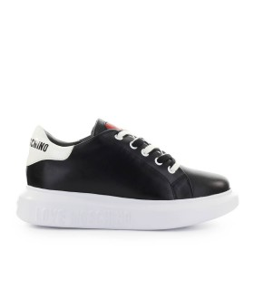 LOVE MOSCHINO BLACK WHITE SNEAKER