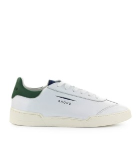 GHOUD WHITE BLUE GREEN LEATHER SNEAKER