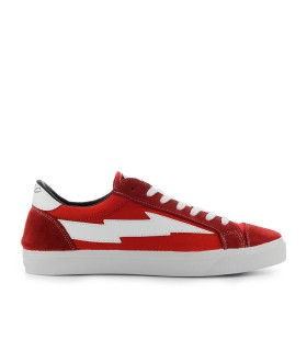SANYAKO THUNDERBOLT RED WHITE SNEAKER