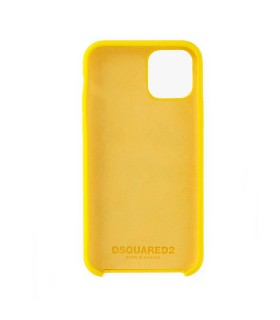 COVER IPHONE 11 PRO DOMINATE D2 GIALLA DSQUARED2