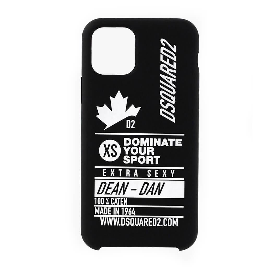 DSQUARED2 DOMINATE D2 BLACK IPHONE 11 PRO CASE