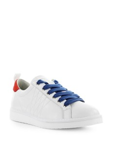 PÀNCHIC WHITE RED LEATHER SNEAKER