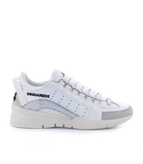 DSQUARED2 551 WIT ZILVER SNEAKER