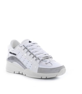 SNEAKER 551 BIANCO ARGENTO DSQUARED2