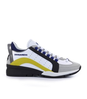 DSQUARED2 551 WHITE YELLOW SNEAKER