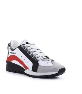 DSQUARED2 551 WIT ROOD SNEAKER