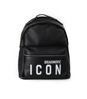 ZAINO ICON IBRAHIMOVICxDSQUARED2 NERO DSQUARED2