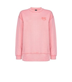 SWEAT-SHIRT SANO COTON ROSE PINKO