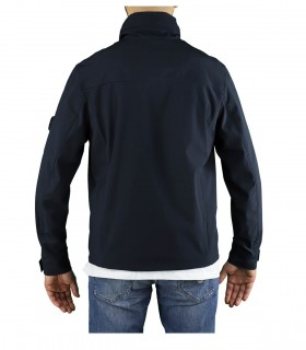 C.P. COMPANY SHELL R NAVY BLUE JACKET