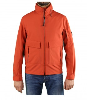 C.P. COMPANY SHELL R BURNT OCHRE JACKET