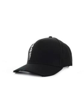 DSQUARED2 LINE ZWART BASEBALL CAP
