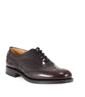 CHURCH'S BURWOOD BURGUNDY LACE UP