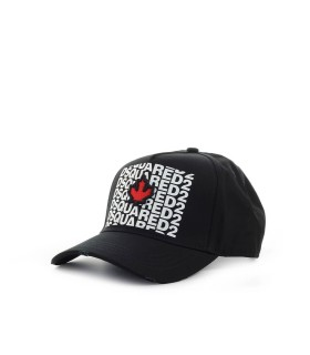 DSQUARED2 SWAY ZWART BASEBALL CAP