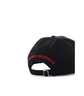 DSQUARED2 SWAY BLACK BASEBALL CAP
