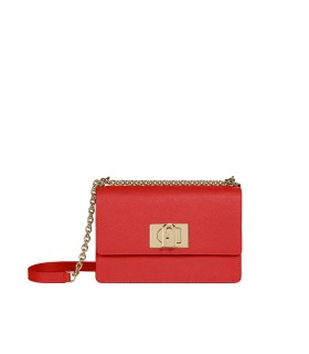 FURLA 1927 MINI RED CROSSBODY BAG