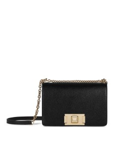 FURLA MIMI' MINI BLACK CROSSBODY BAG