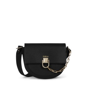 FURLA MISS MIMI' MINI BLACK CROSSBODY BAG