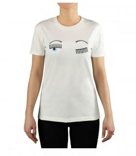 CHIARA FERRAGNI FLIRTING WHITE T-SHIRT