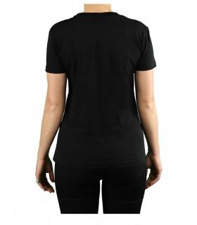 CHIARA FERRAGNI FLIRTING BLACK T-SHIRT