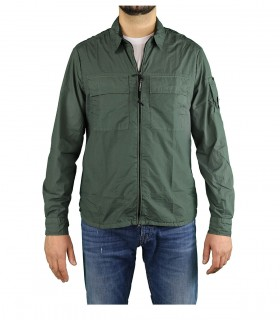 C.P. COMPANY MILITARY GREEN SHIRT