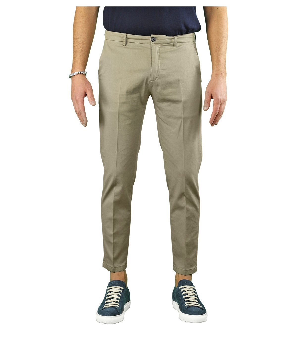 Department 5 Cottons PRINCE TAUPE CHINO PANTS