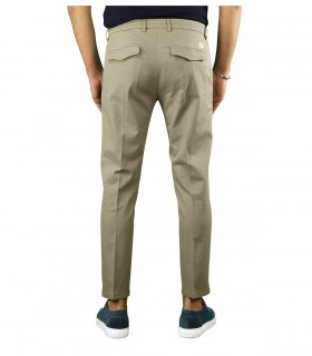 DEPARTMENT 5 PRINCE TAUPE CHINO PANTS