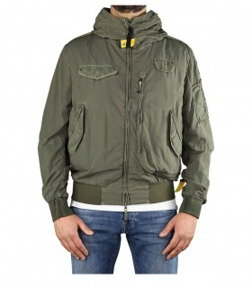 PARAJUMPERS GOBI RELOADED GREEN BOMBER JACKET