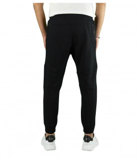 JOGGERS DIAGONAL RAISED FLEECE NERO C.P. COMPANY