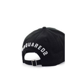 CAPPELLO DA BASEBALL BE ICON NERO DSQUARED2