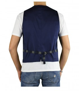 GILET NAVY GARRY'S EARTH