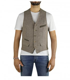 GILET TAUPE GARRY'S EARTH