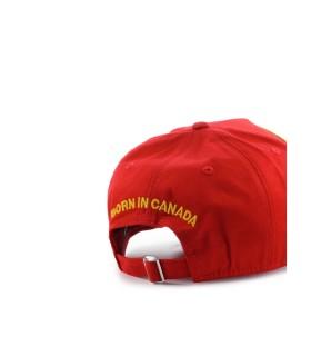 DSQUARED2 DSQ2 ROOD BASEBALL CAP