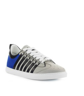 SNEAKER 251 LOW TOP GRIGIO BLU DSQUARED2