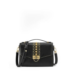MICHAEL KORS HENDRIX BLACK CROSSBODY BAG