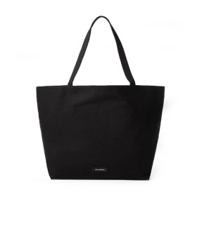 KARL LAGERFELD K/IKONIK BLACK SHOPPING BAG