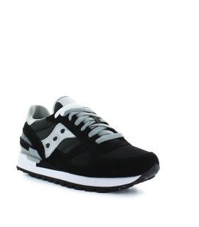 SAUCONY SHADOW ORIGINAL BLACK SILVER SNEAKER