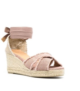 CASTAÑER BLUMA MAUVE ESPADRILLES WITH WEDGE