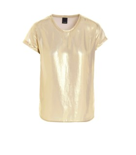 PINKO FARIDA 1 GOLD BLOUSE