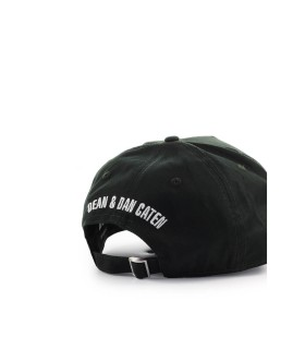 CAPPELLO DA BASEBALL PATCH LOGO VERDE SCURO DSQUARED2