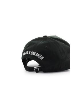 DSQUARED2 LOGO PATCH DONKERGROEN BASEBALL CAP