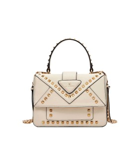 LA CARRIE THUNDER IVORY CROSSBODY BAG