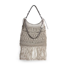 LA CARRIE CROSSROADS BEIGE SHOPPER