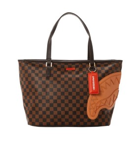 BORSA SHOPPING HENNY MARRONE SPRAYGROUND