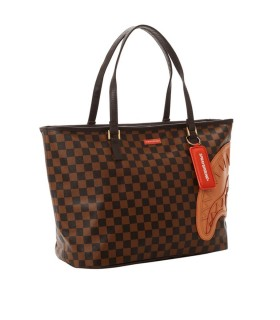 SPRAYGROUND HENNY BROWN SHOPPING BAG