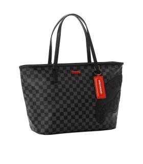 SPRAYGROUND HENNY BLACK SHOPPING BAG
