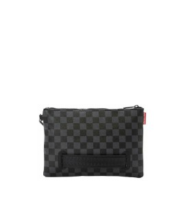 SPRAYGROUND HENNY BLACK CLUTCH BAG