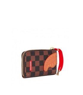 SPRAYGROUND HENNY BROWN WALLET