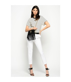 PINKO BELLO 100 WHITE PANTS